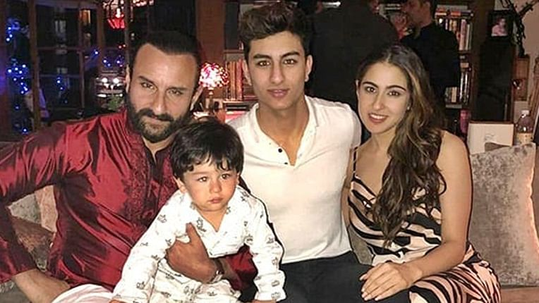 Happy Birthday Saif Ali Khan: Top 10 adorable moments of the 'Sacred Games' actor with his kids