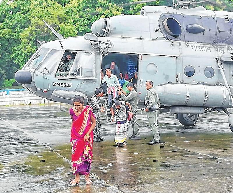 Maharashtra: Khoni bridge submerged, 25 villages affected
