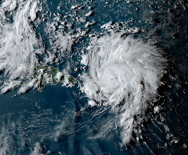Hurricane Dorian heads to Florida after strike in Caribbean