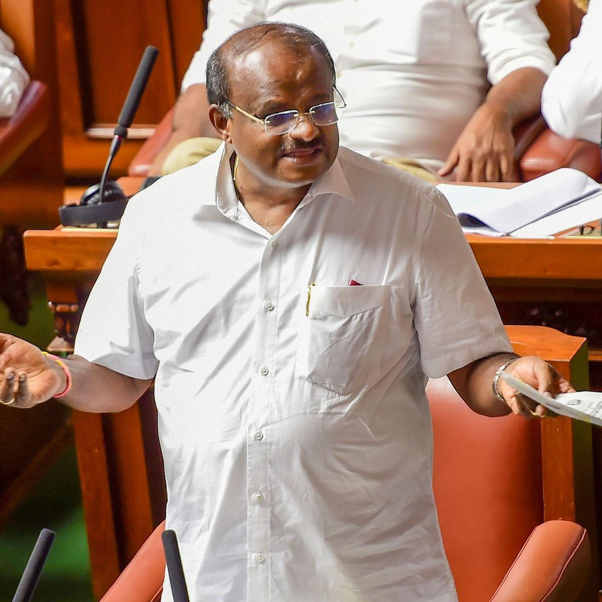 I worked like 'slave' for Congress for 14 months: Kumaraswamy