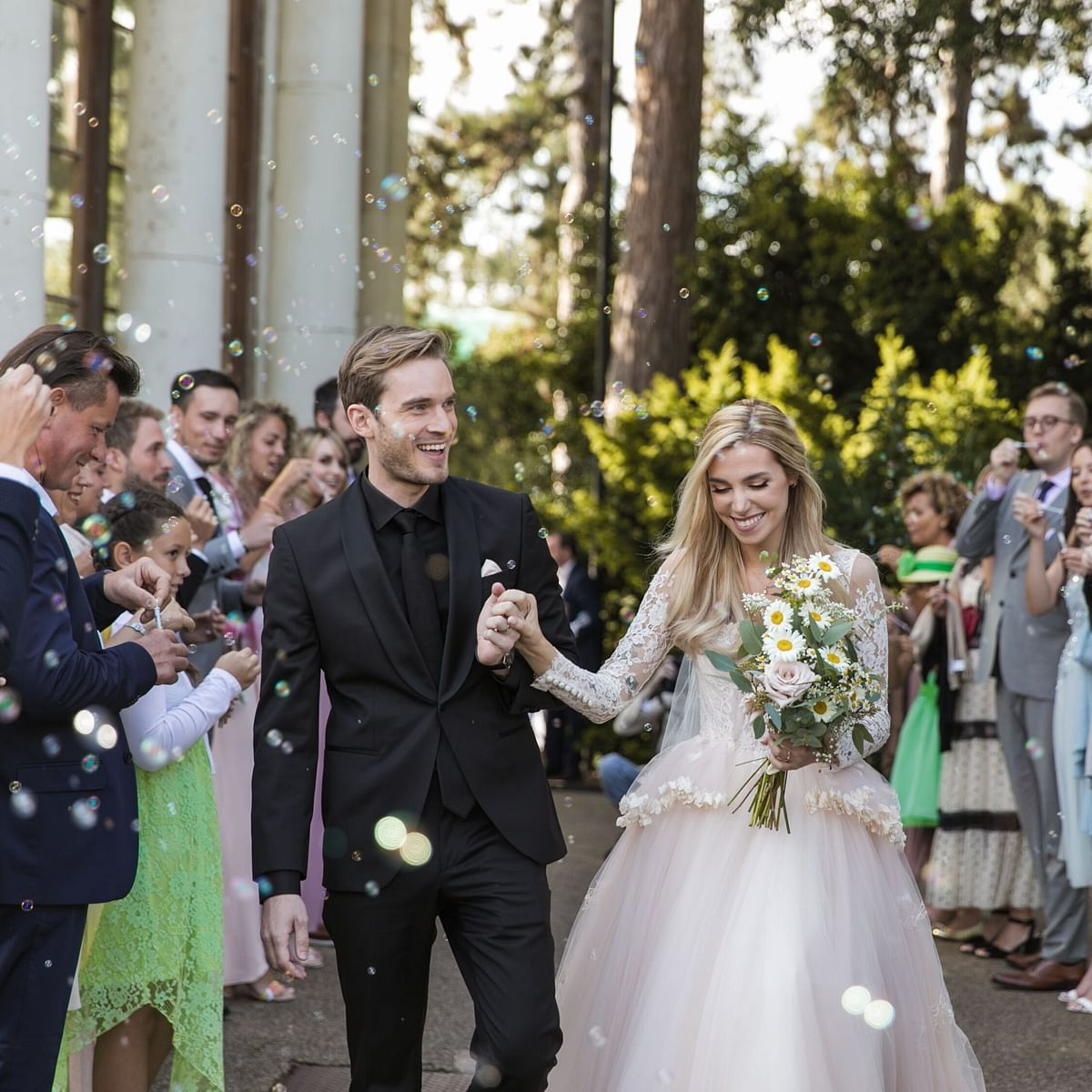 Youtube superstar PewDiePie marries longtime partner Marzia Bisognin