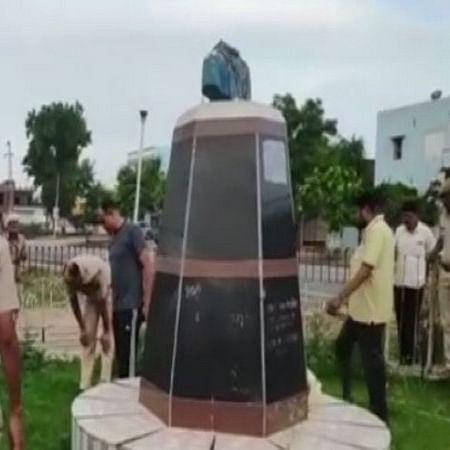 Bharatiya Jana Sangh founder Shyama Prasad Mukherjee's statue vandalised in Rajasthan