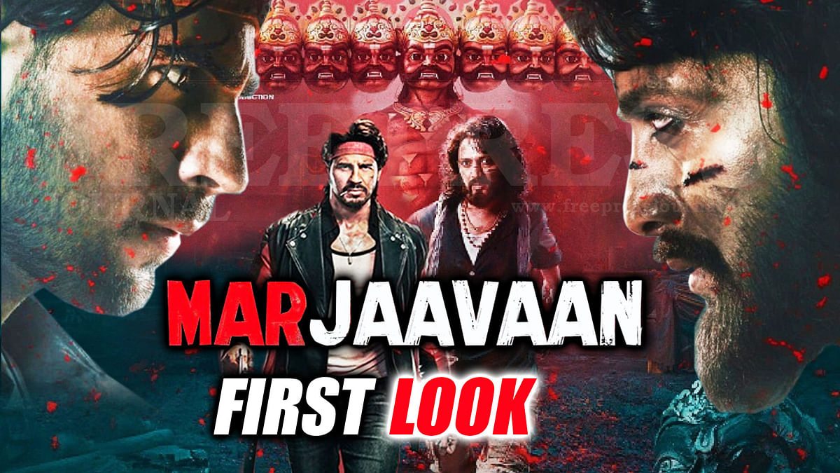 Mar Jaavaan Official First Look Out, Sidharth Malhotra faces dwarf Riteish Deshmukh in revenge saga