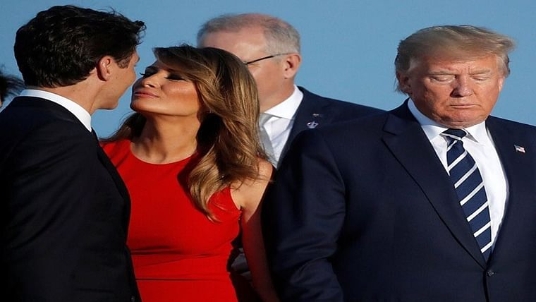 This picture of Melania Trump and Justin Trudeau from G7 summit is making netizens go crazy
