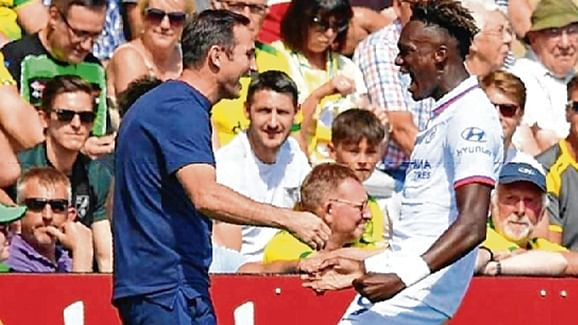 Tammy Abraham fired Chelsea to their first win