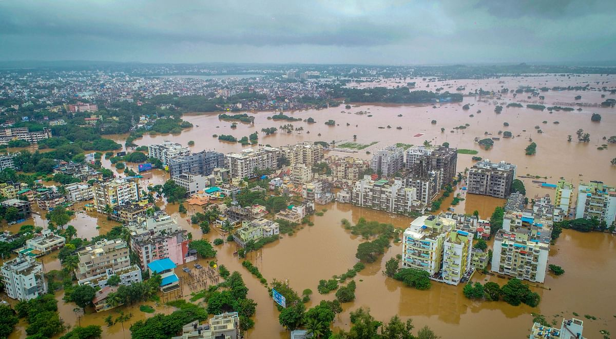 In Pics: Floods wreak havoc in Maharashtra, Karnataka