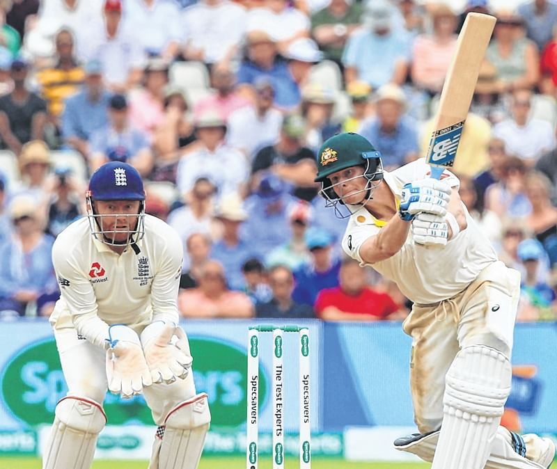 Ashes 2019: Steve Smith, Matthew Wade pile on runs