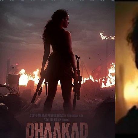 'Dhaakad' Teaser Out: Guns blazing Kangana Ranaut takes on enemies
