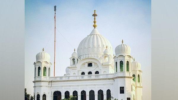 A view of Kartarpur Sahib Gurudwara