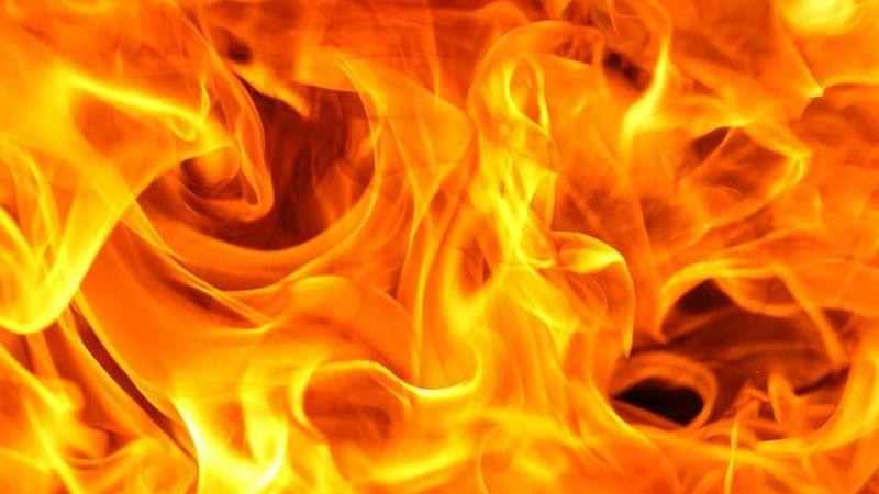 Fire at under-construction building near Pragati Maidan