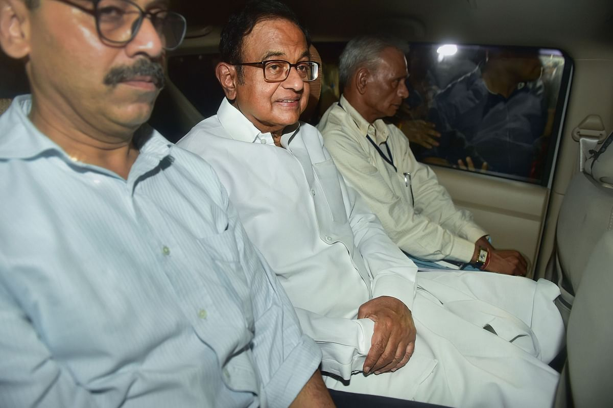 INX Media Case: Lawyer offers house arrest for Chidambaram against Tihar jail