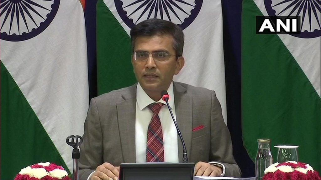 We strongly condemn 'irresponsible' statements by Pakistan PM: MEA