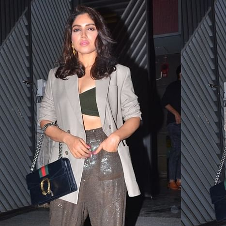 Bhumi Pednekar's dinner accessory is a Rs 1.2 Lakh Gucci bag