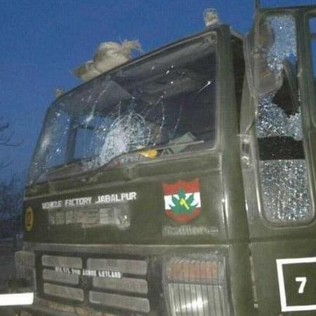 Shopian: Army vehicle of 55 Rashtriya Rifle damaged in IED blast, none injured