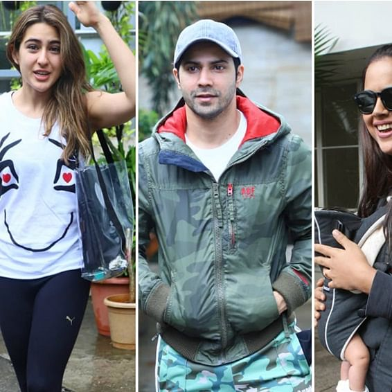 Paparazzi Files: Varun Dhawan, Sameera Reddy and others captured by shutterbugs