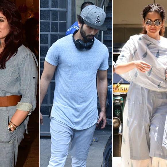 Celebrity Spotting: Kangana Ranaut, Twinkle Khanna and others spotted around Mumbai