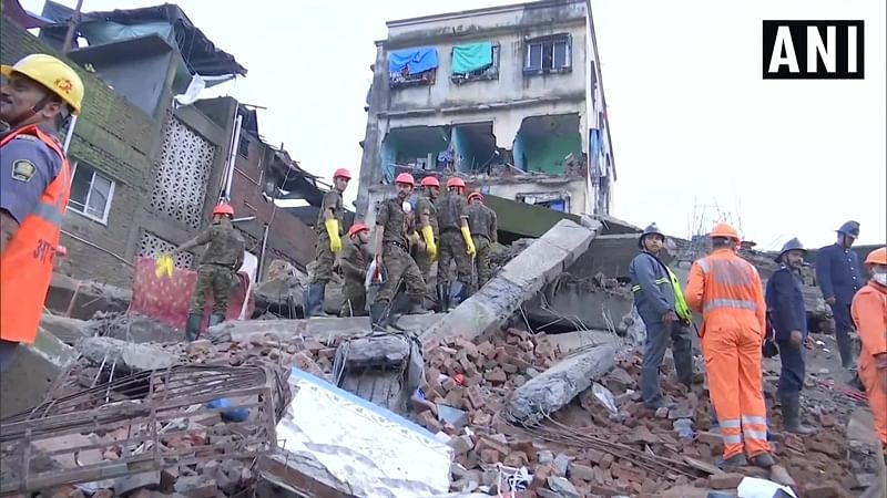 Bhiwandi building collapse: Death toll rises to 2, five critically injured