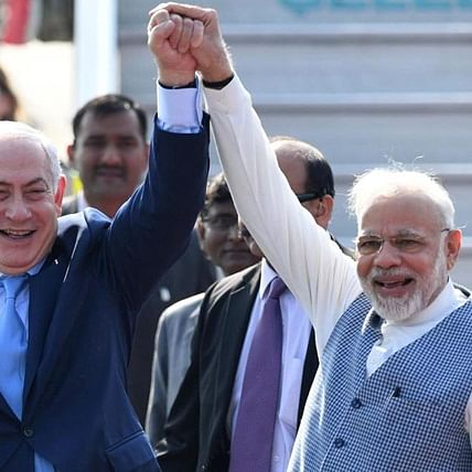 My friend Bibi, your wishes have touched all Indians: PM Narendra Modi to Israeli PM Benjamin Netanyahu