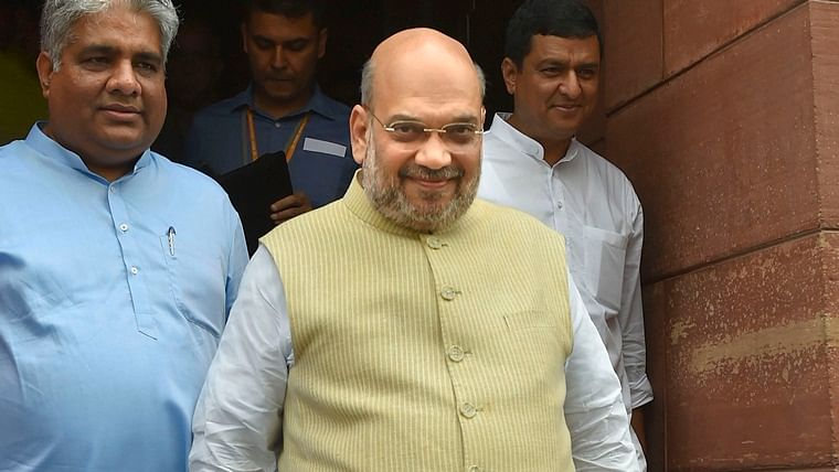 Amit Shah to move three key Bills related to Jammu and Kashmir today in Lok Sabha