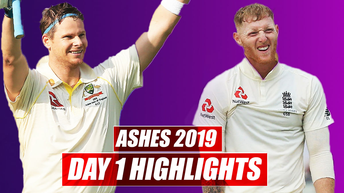 Ashes 2019 Day 1 Highlights | Australia vs England 1st Test: Australia Scores 284 On First Day