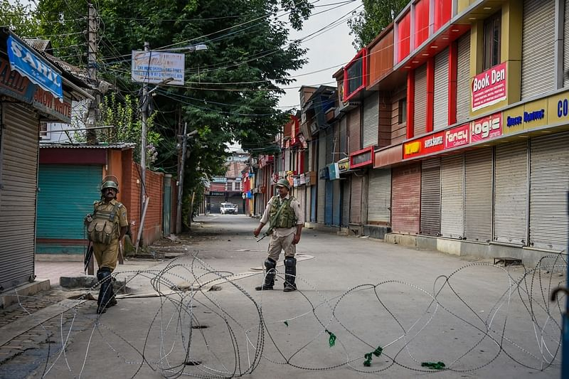 Restrictions in Jammu lifted, but curbs to continue in some places in Kashmir: J-K ADG