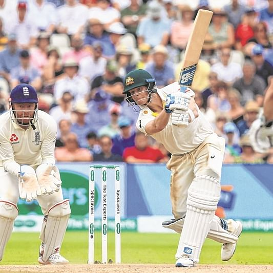 Ashes: Smith double ton helps Australia post mammoth 497/8 to leave England reeling