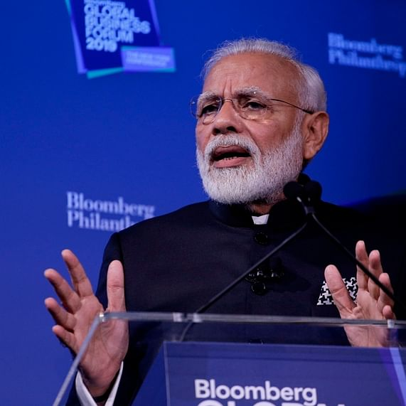 India rising on world stage; at forefront of several positive changes: PM Modi