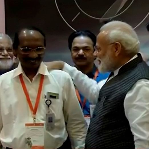 """No need to get dejected"", PM Narendra Modi tells ISRO scientists"