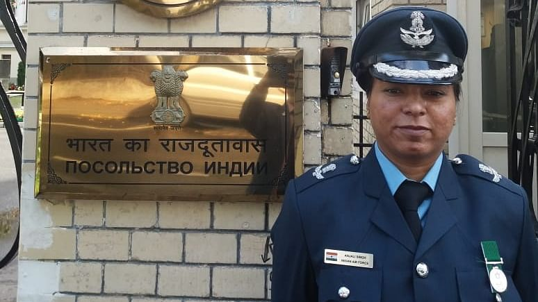 IAF officer Anjali Singh becomes India's first military diplomat
