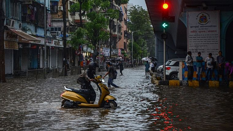 Heavy rains lead to water-logging in Mumbai; IMD says rains to continue for next two days
