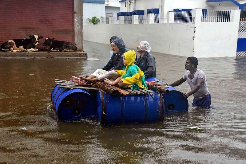 Nitish Kumar blames Meteorological Departement for inaccurate forecast