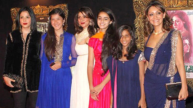 #FlashbackFriday: Can you recognise Suhana Khan, Ananya Panday and Shanaya Kapoor in this picture?