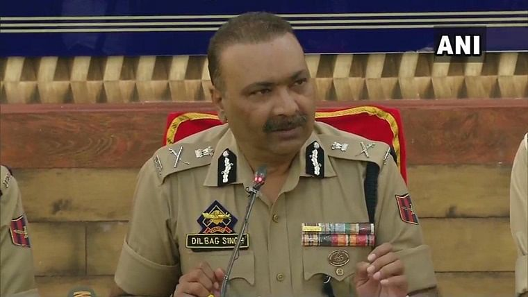 184 incidents of law and order engagement reported from Jammu and Kashmir: DGP Dilbag Singh
