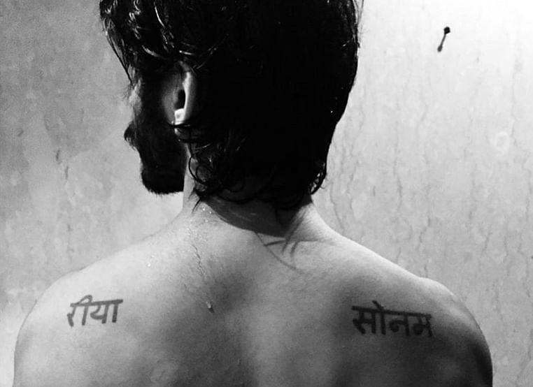 Harshvardhan Kapoor shows love for sisters Sonam, Rhea with tattoos