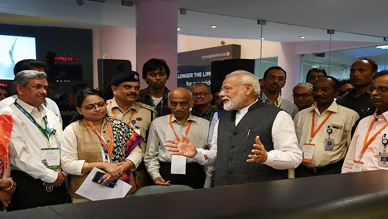 'India is with you. You are exceptional': PM Modi boosts morale of ISRO scientists after contact with lander lost