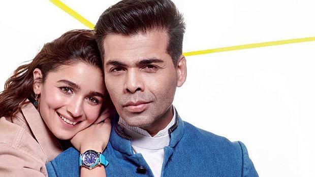 Alia Bhatt begins prep for 'Takht' with her mentor Karan Johar, watch video