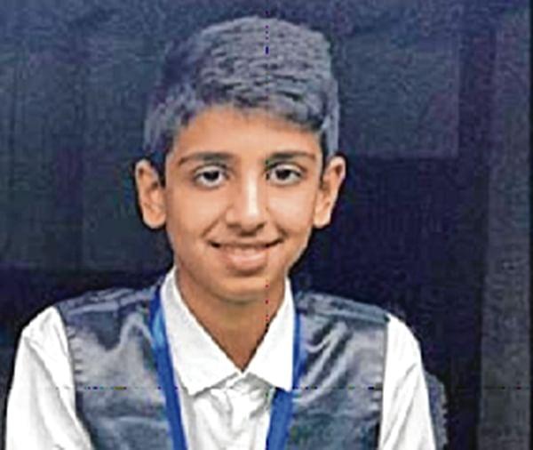 Rayaan Razmi of Radio Club defeat Rohan Jain of Mandpeshwar Civic Federation (MCF) in Snooker & Billiards Championship