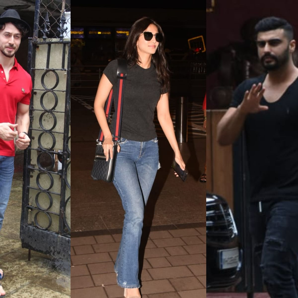 Celebrity Spotting: Arjun Kapoor, Tiger Shroff, Vaani Kapoor, and others spotted