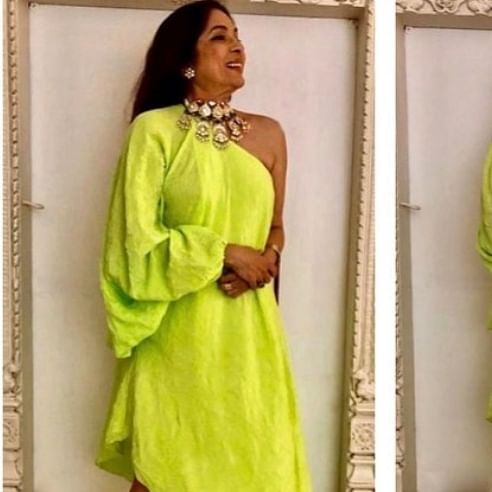 Neena Gupta ditches gown, heels, and opts for sneakers at IIFA 2019
