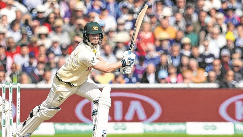 Steve Smith holds firm in Ashes return