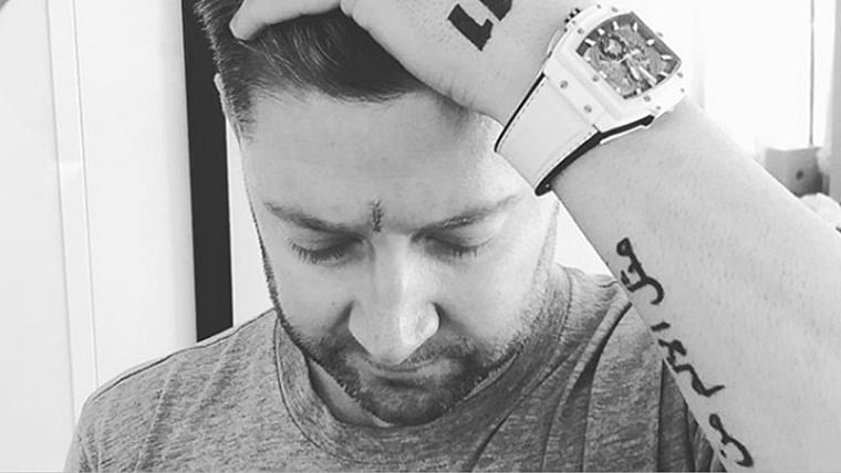 Protect yourself from the sun: Michael Clarke advises youngsters after surgery to remove skin cancer from face