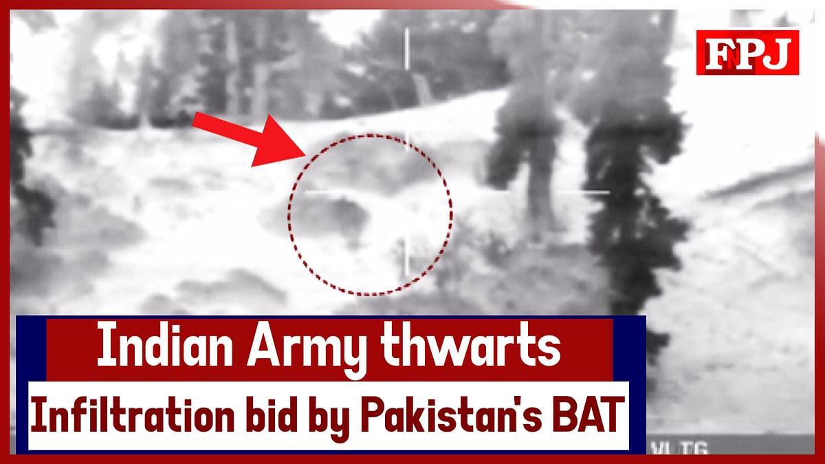 Watch: Indian Army Thwarts Infiltration Bid By Pakistan's BAT