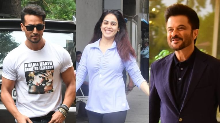 Celebrity Spotting: Anil Kapoor, Genelia D'Souza, Tiger Shroff and other B-town celebs spotted