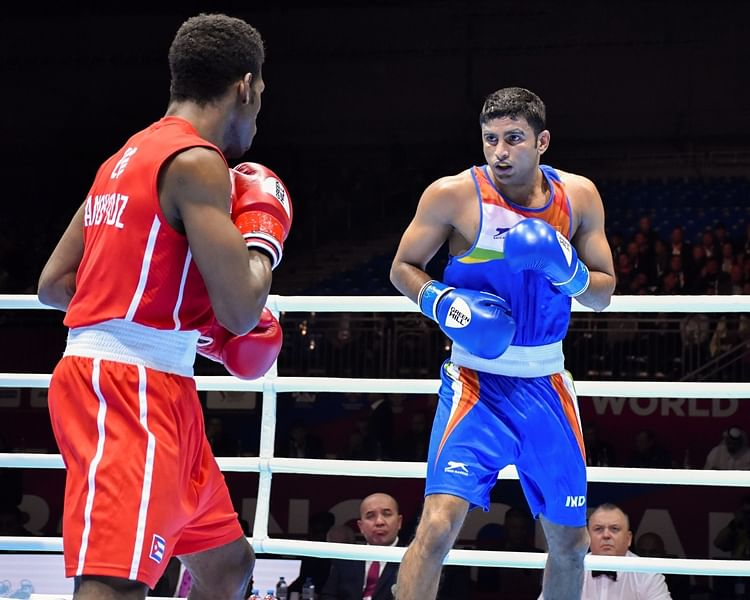 Amit Panghal loses finals, becomes first Indian to win silver at World Boxing Championships