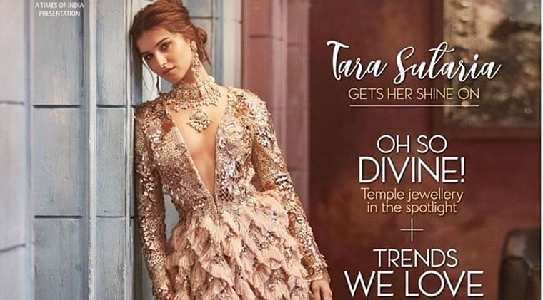 Divine beauty Tara Sutaria gets her shine on for latest magazine cover