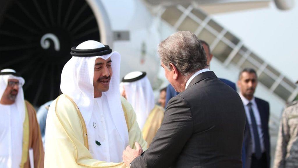 UAE's Foreign Minister Sheikh Abdullah bin Zayed bin Sultan Al Nahyan