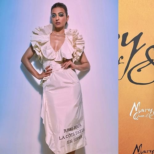 Radhika Apte copies Saoirse Ronan's quirky white Gucci outfit for IIFA 2019