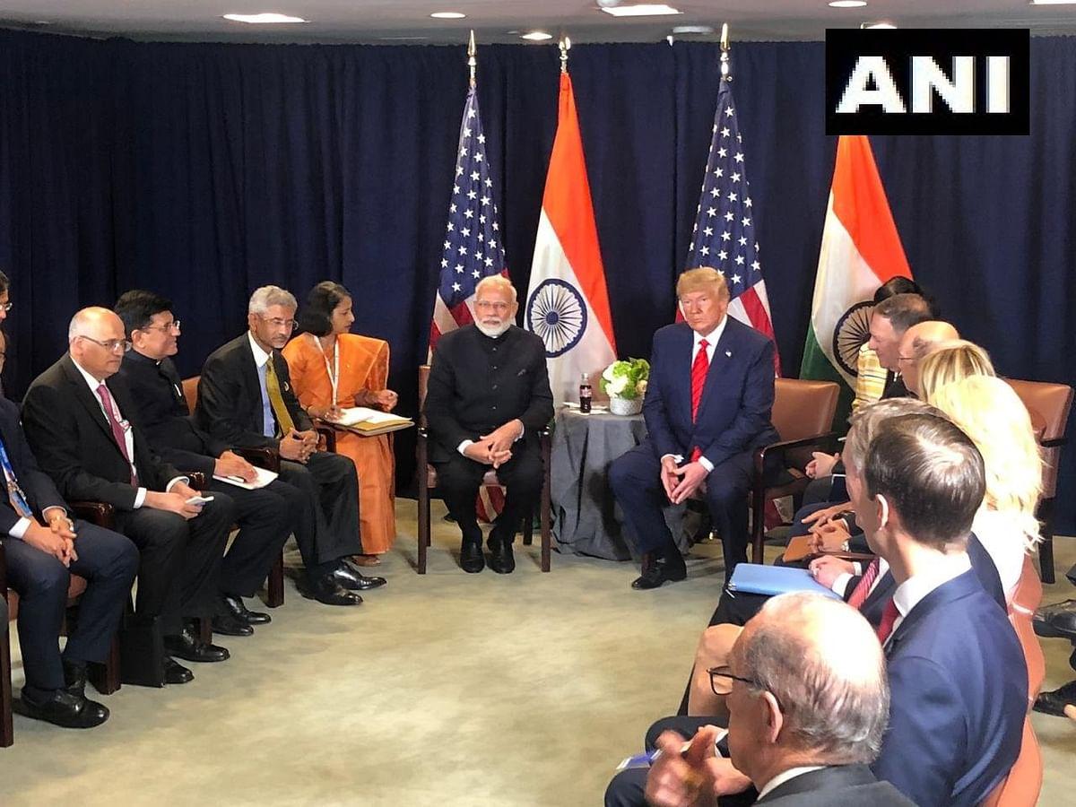 PM Modi meets Donald Trump for bilateral in New York