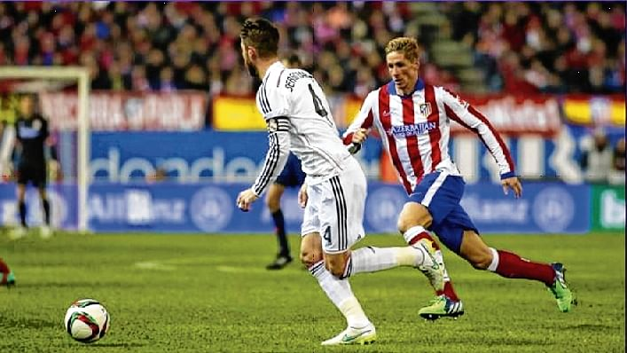 Real Madrid face Atletico in La Liga derby today