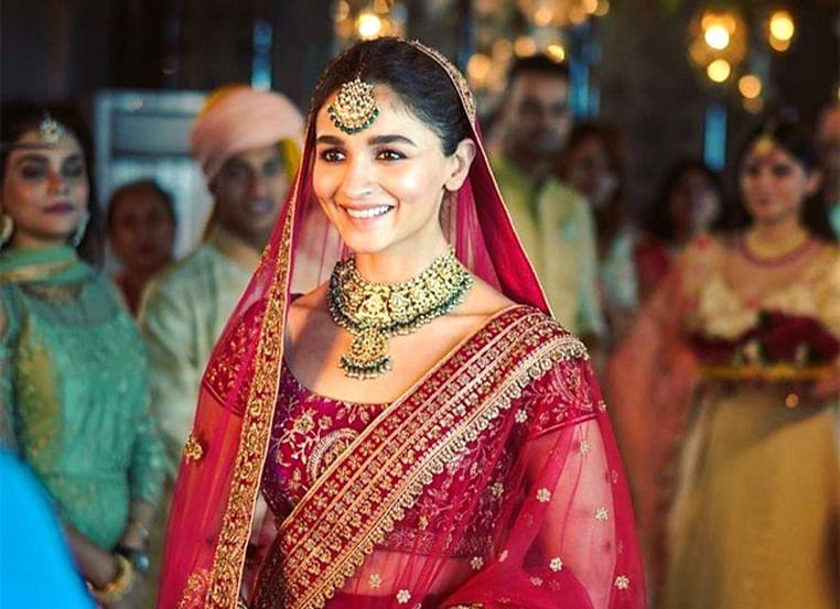 Alia Bhatt shares her 'Dulhan Wali Feeling' as she turns a stunning Indian bride